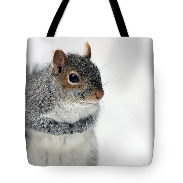 Cold Hands Tote Bag by Karol Livote