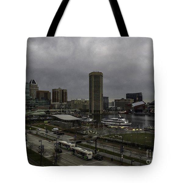 Cold Harbor Day Tote Bag by Arlene Carmel