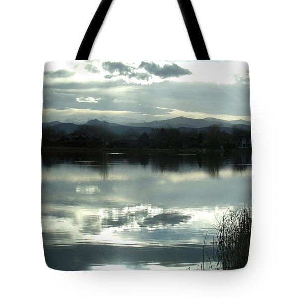 Cold Light Tote Bag