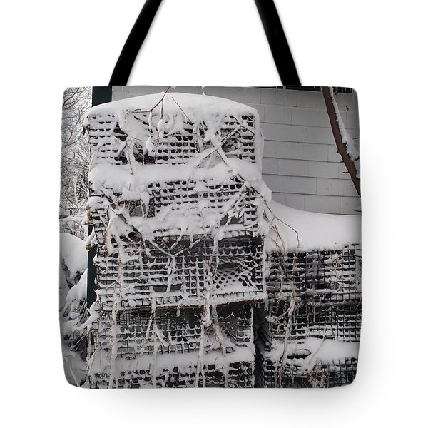 Cold Lobster Trap Tote Bag