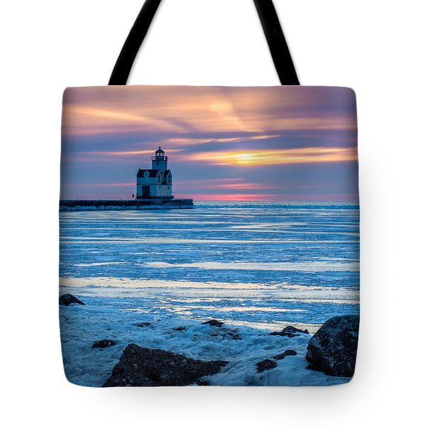 Cold Pastels Tote Bag