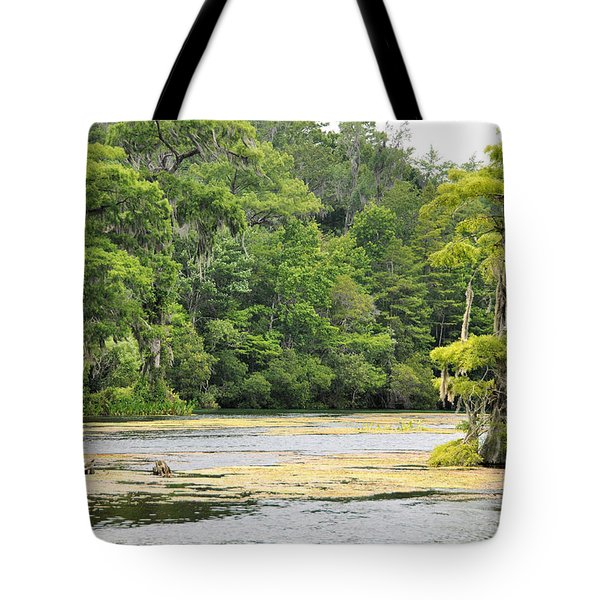 Cold River Runs Tote Bag by Jan Amiss Photography
