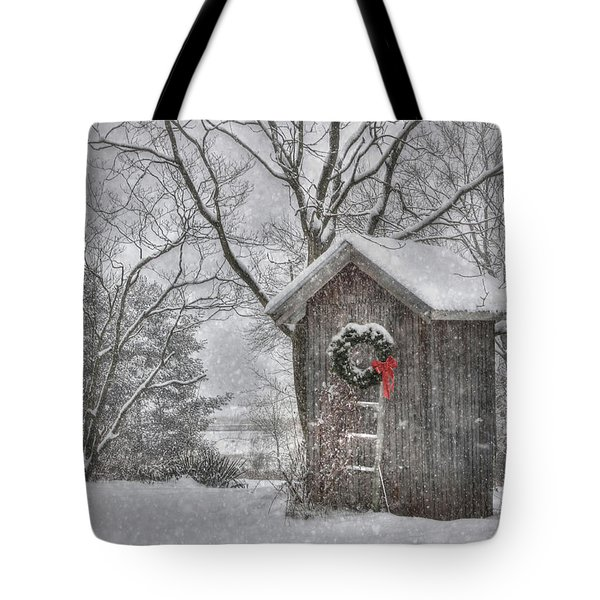 Cold Seat Tote Bag by Lori Deiter