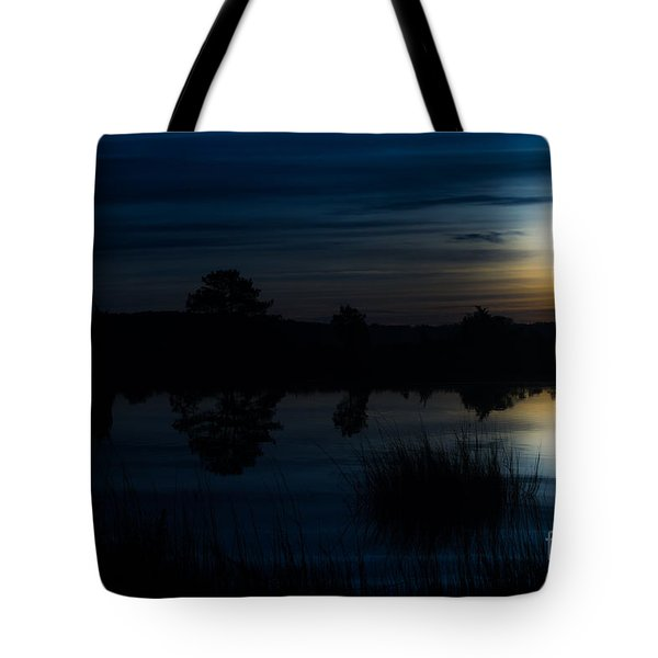Cold Winter Morning Tote Bag