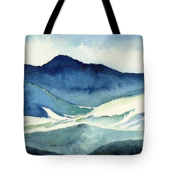 Coldscape Tote Bag by Katherine Miller