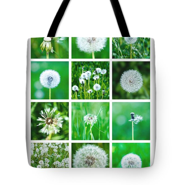 Collage June - Featured 3 Tote Bag by Alexander Senin