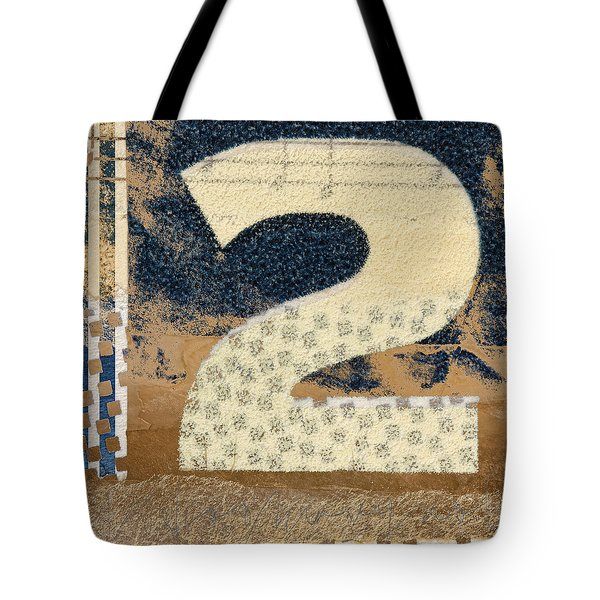 Collaged Two Tote Bag by Carol Leigh