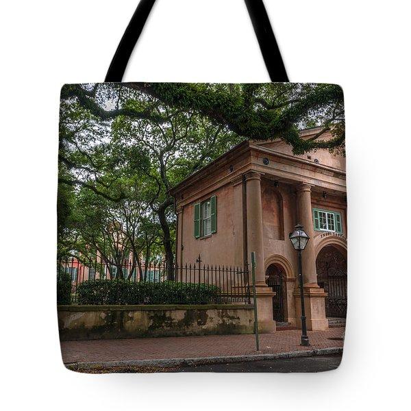 College Of Charleston Campus Tote Bag