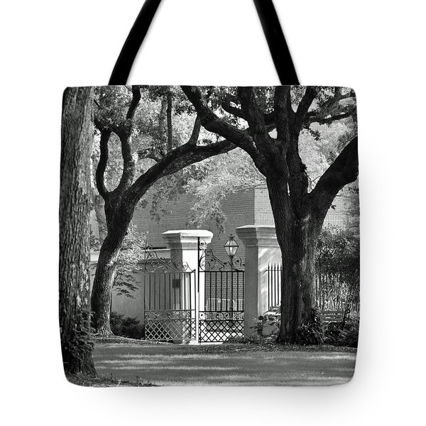 College Of Charleston Gate Tote Bag