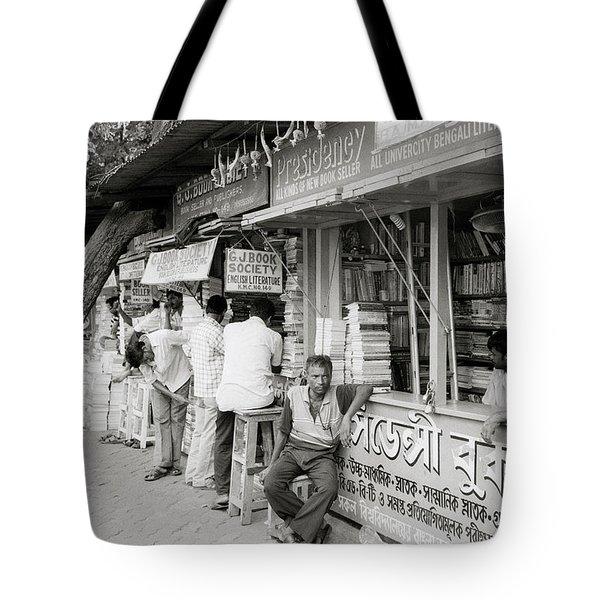 College Street Calcutta  Tote Bag