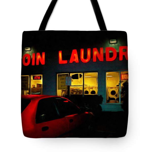 College Town Saturday Night Tote Bag