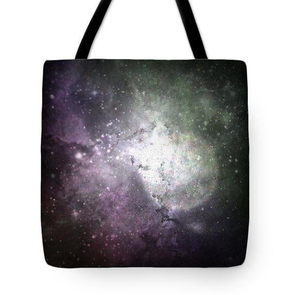 Collision Tote Bag by Cynthia Lassiter