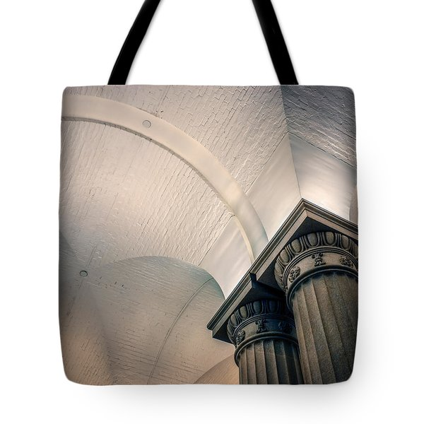 Tote Bag featuring the photograph Columns by Rob Sellers