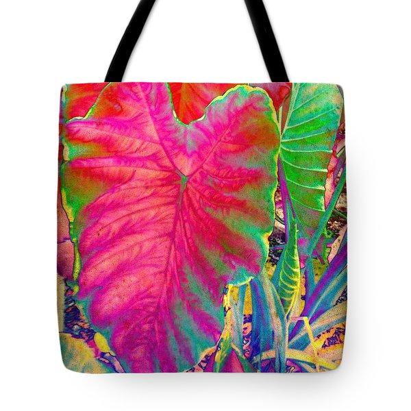 Colocasia Tote Bag by Denise Tomasura