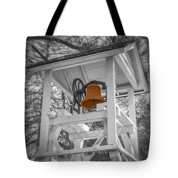 Coloma Church Bell Tote Bag