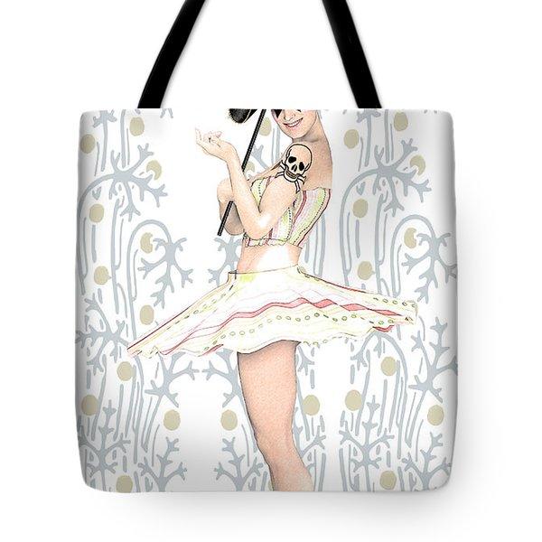 Daisy Commedia Dell'arte  Tote Bag