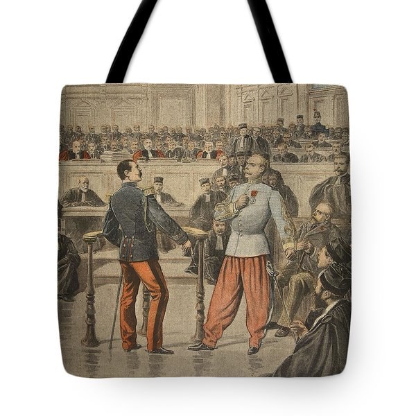 Colonel Henry And Lieutenant-colonel Tote Bag by Henri Meyer