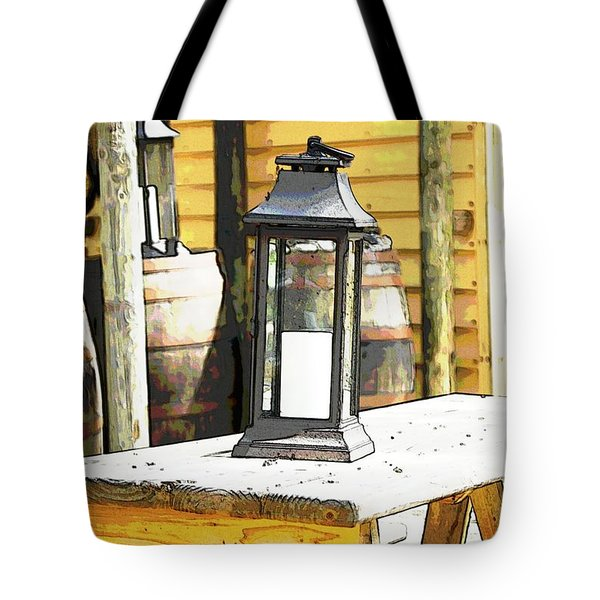 Colonial Light Tote Bag