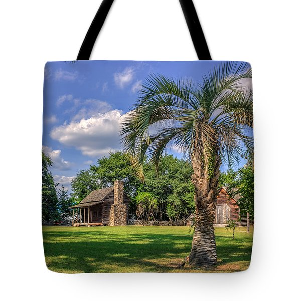 Colonial Paradise Tote Bag