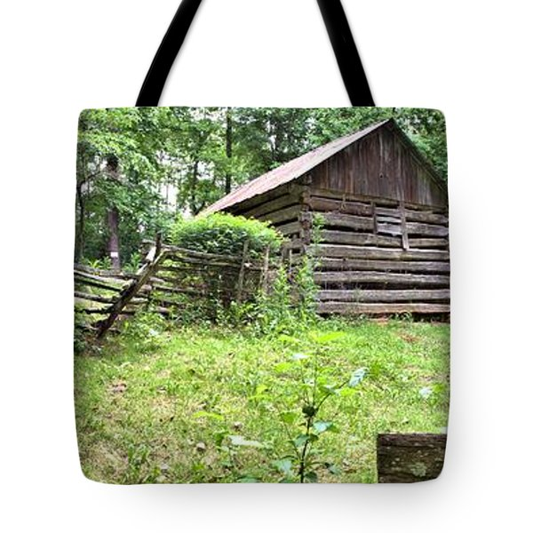 Colonial Village Tote Bag by Gordon Elwell