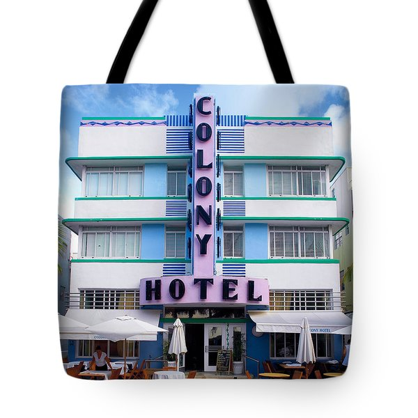 Colony Hotel Daytime Tote Bag