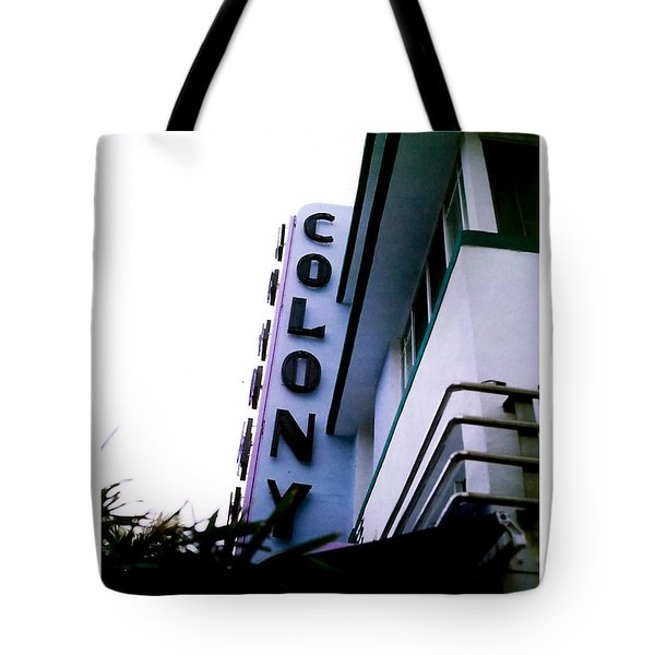 Colony Polaroid Tote Bag