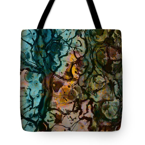Color Abstraction Xvi Tote Bag
