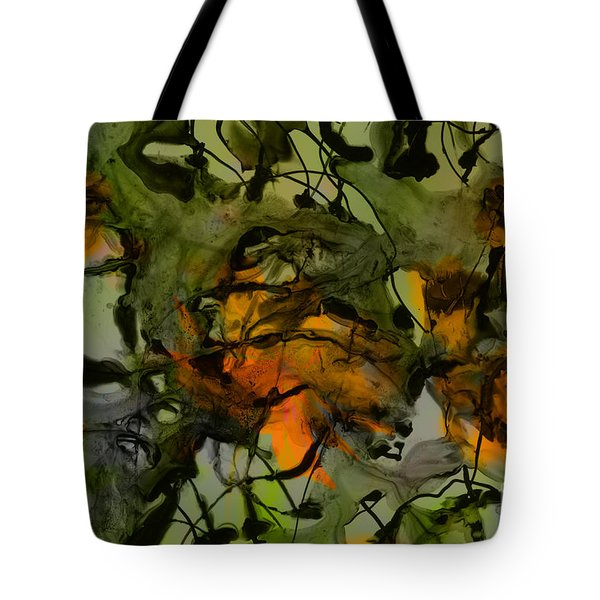 Color Abstraction Xvii Tote Bag