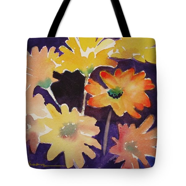 Color And Whimsy Tote Bag by Marilyn Jacobson