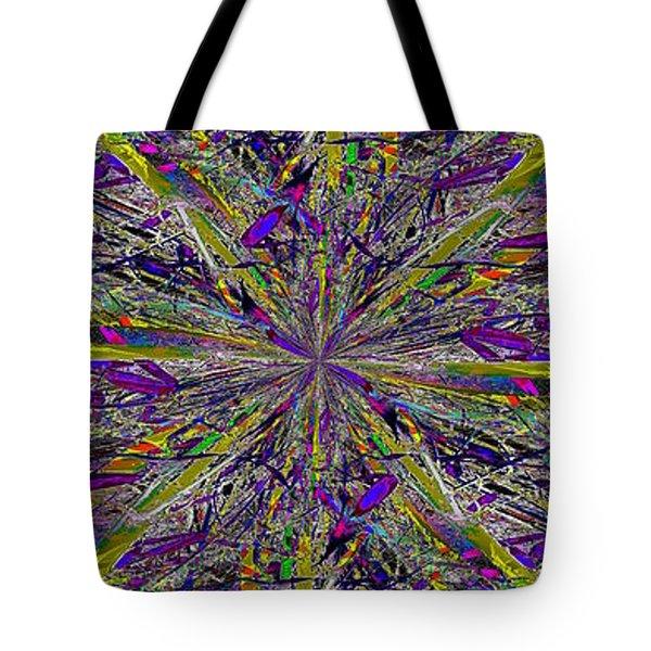 Color Boom Tote Bag by Tim Allen