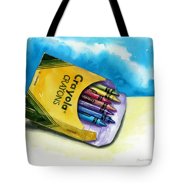 Color Buffet Tote Bag by Sandi Howell