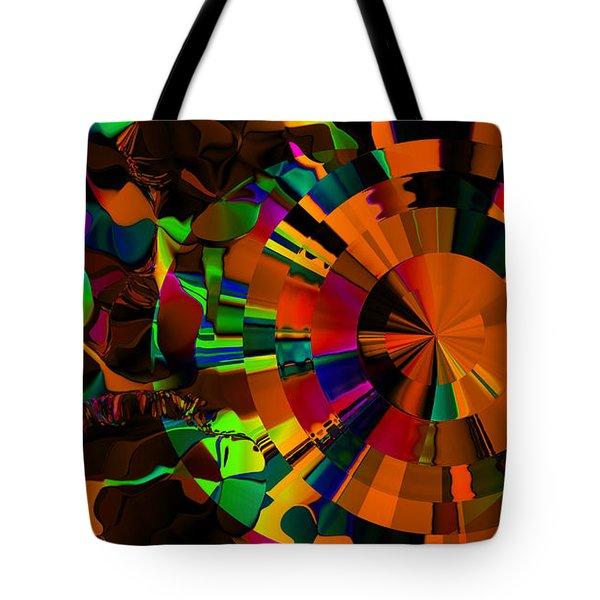 Color Burst - Orange Tote Bag