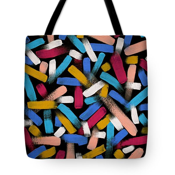 Color Comets Tote Bag