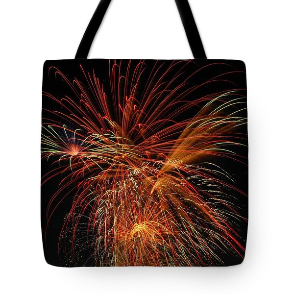 Color Design Tote Bag by Optical Playground By MP Ray