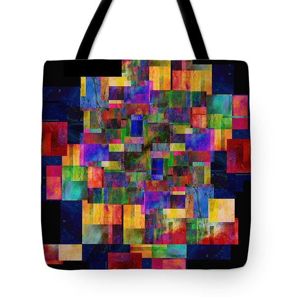 Color Fantasy - Abstract - Art Tote Bag by Ann Powell