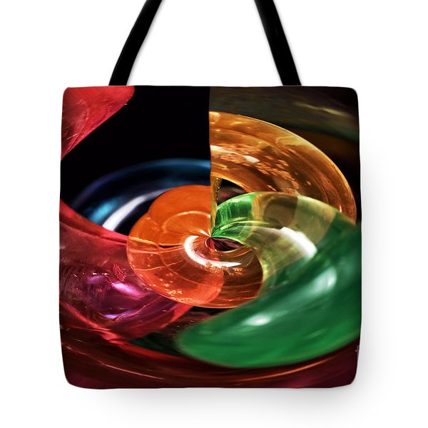 Color Fight Tote Bag