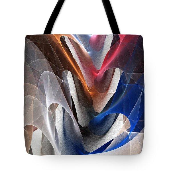 Color Fold Tote Bag by Anastasiya Malakhova
