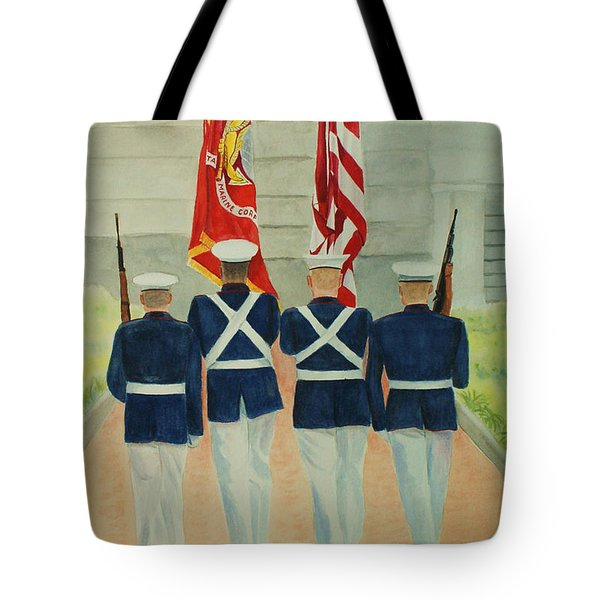 Color Guard Tote Bag