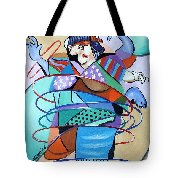 Color In Motion Tote Bag by Anthony Falbo