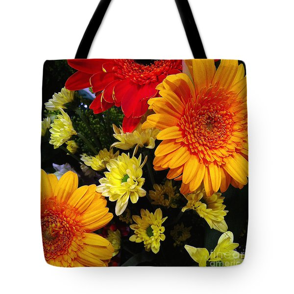 Tote Bag featuring the photograph Color Me Bright by Meghan at FireBonnet Art