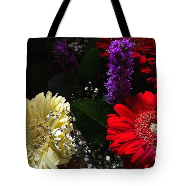 Tote Bag featuring the photograph Color Me Dark by Meghan at FireBonnet Art