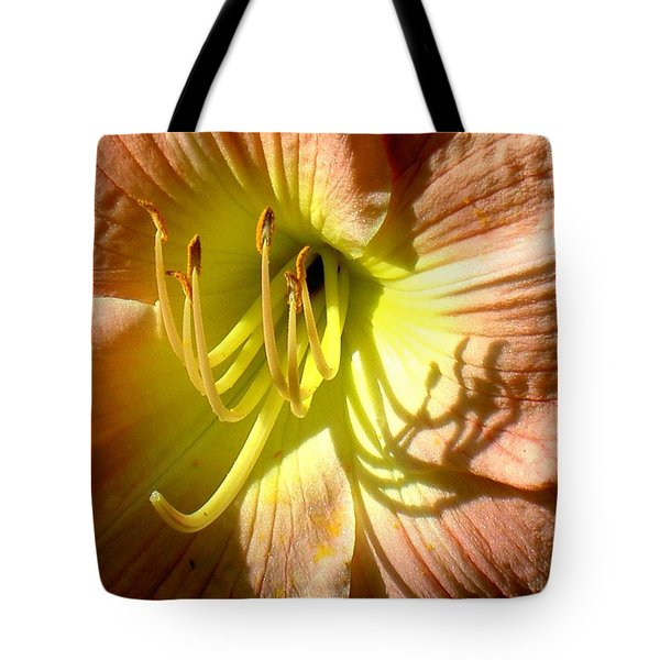 Color Me Just Peachy Tote Bag