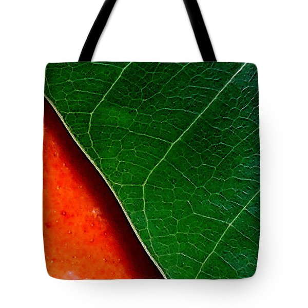 Color Me Mango Sweet And Spicy Tote Bag by James Temple