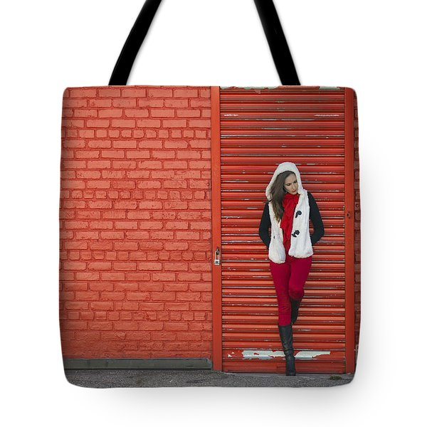 Color Me Red Tote Bag