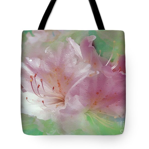 Color Me Softly Tote Bag by Sami Martin