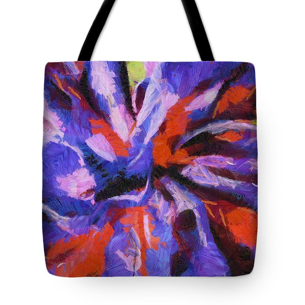 Tote Bag featuring the digital art Color My Insecurity by Joe Misrasi