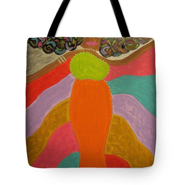 Color Of Dance Tote Bag by Clarissa Burton