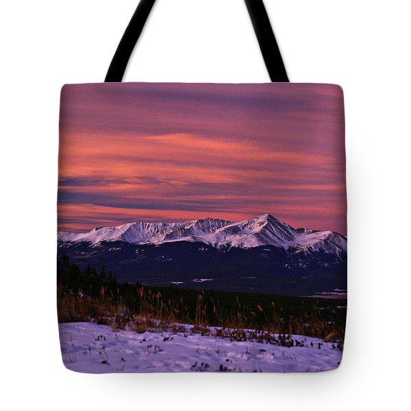 Color Of Dawn Tote Bag