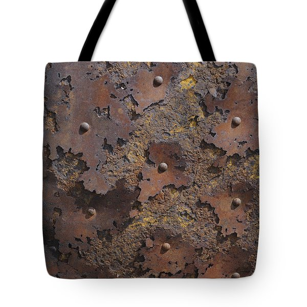 Color Of Steel 2 Tote Bag