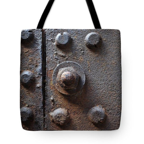 Color Of Steel 3 Tote Bag